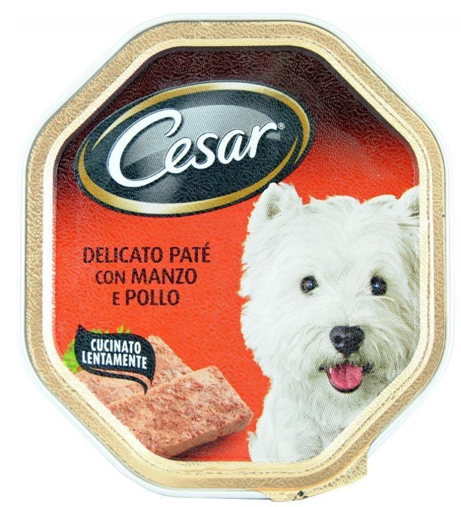 Cesar Dogfood Delicate Pate With Beef and Chicken 150g