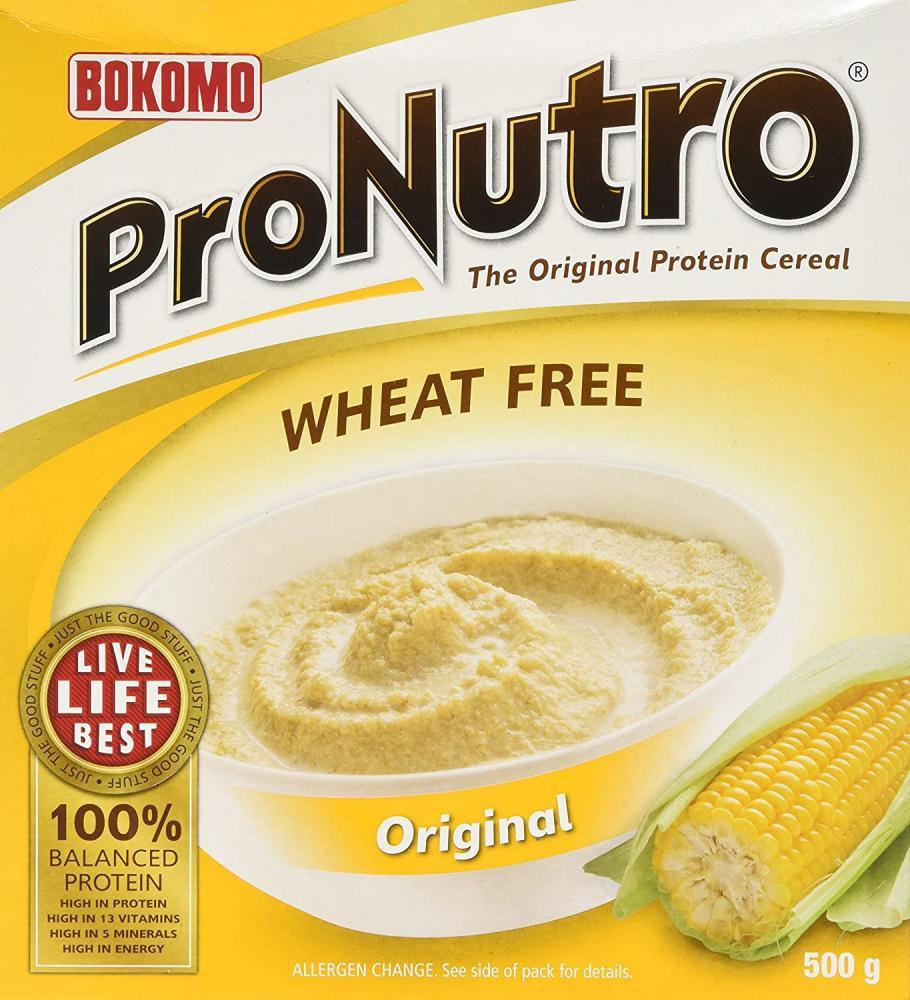 Bokomo Pronutro Original Flavoured Cereal 500g Damaged Box