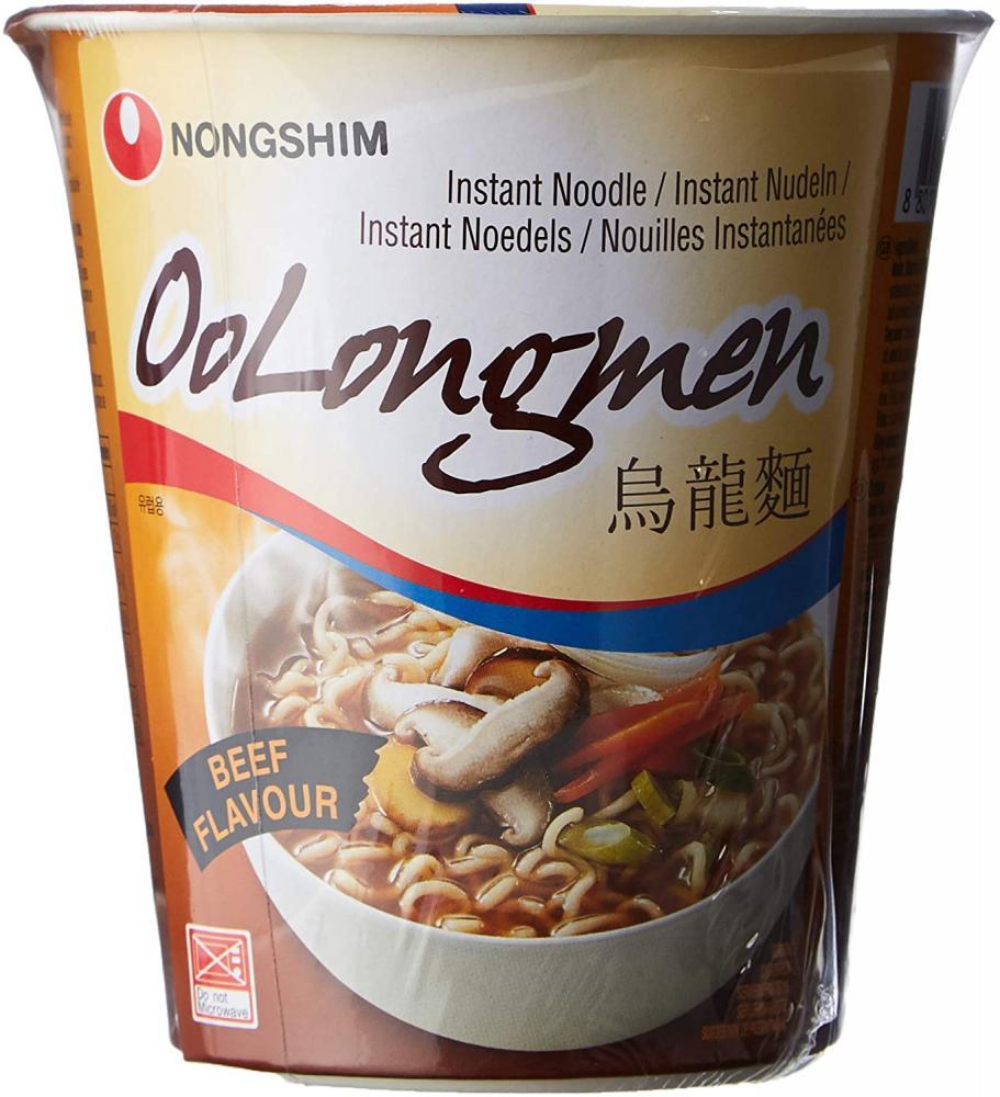 Nong Shim Oolongmen Beef Flavour Noodle Soup 75g
