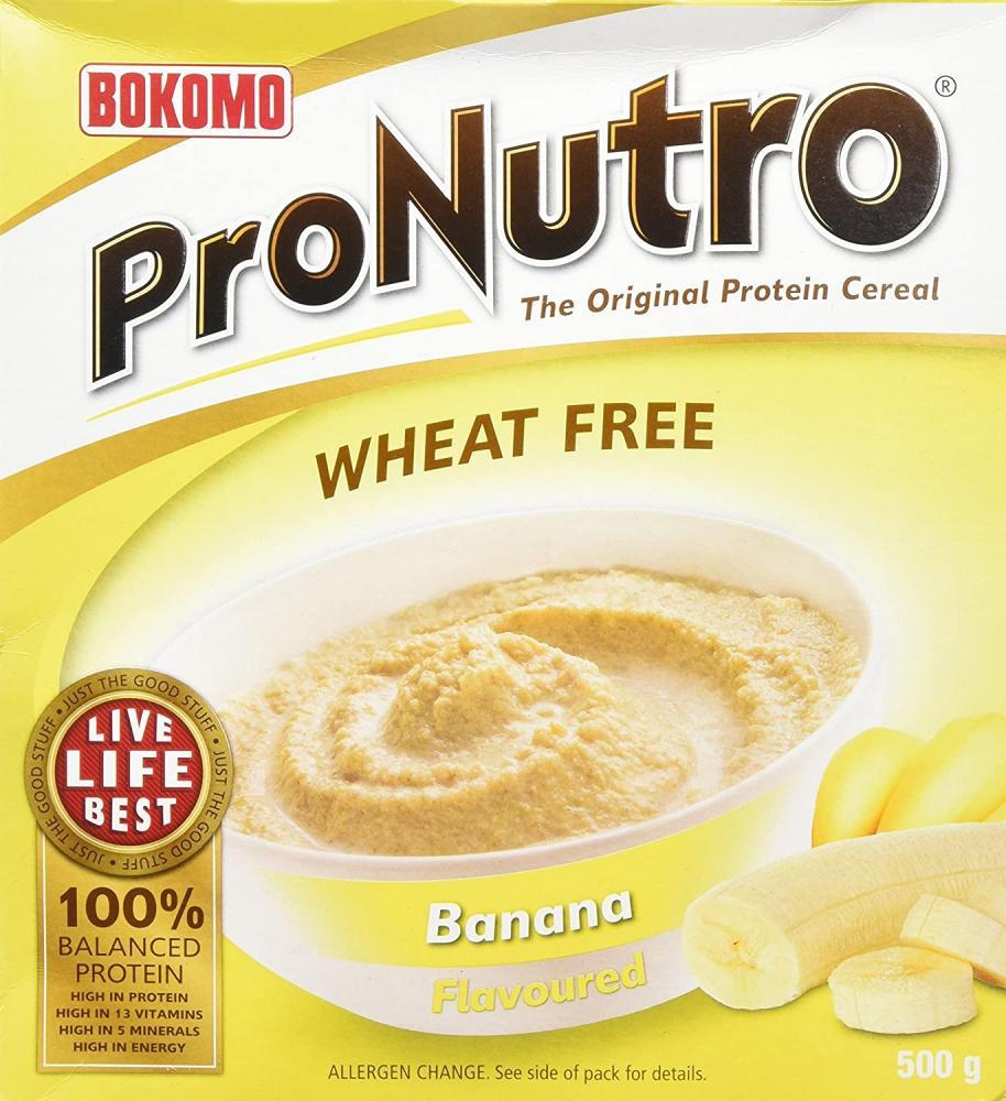 Bokomo Pronutro Banana Flavoured Cereal 500g
