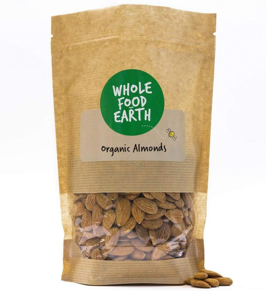 Whole Food Earth Organic Whole Almonds 100g