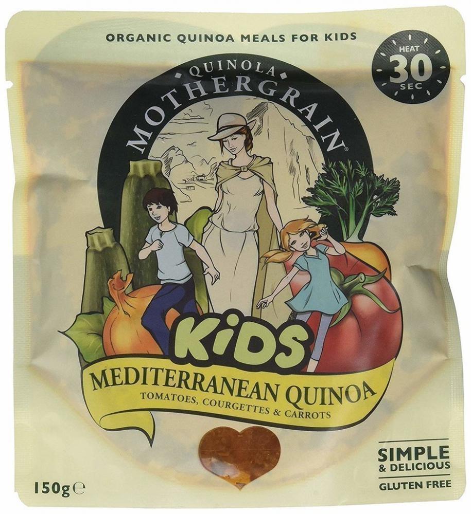 Quinola Mothergrain Kids Mediterranean Quinoa 150g
