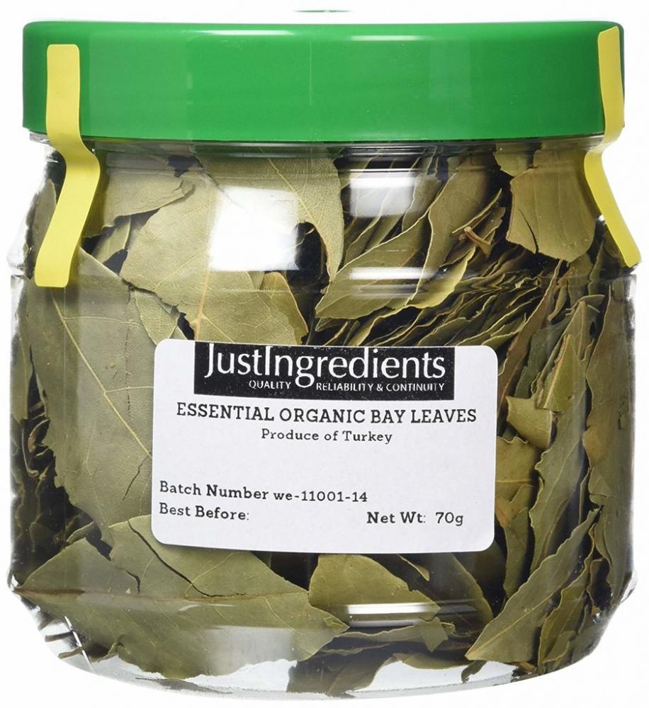 JustIngredients Bay Leaves Tub 70g