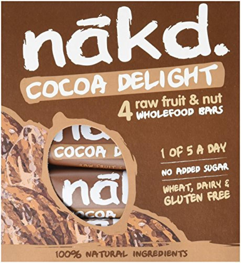 Nakd Cocoa Delight Wholefood Bars 4x 35g