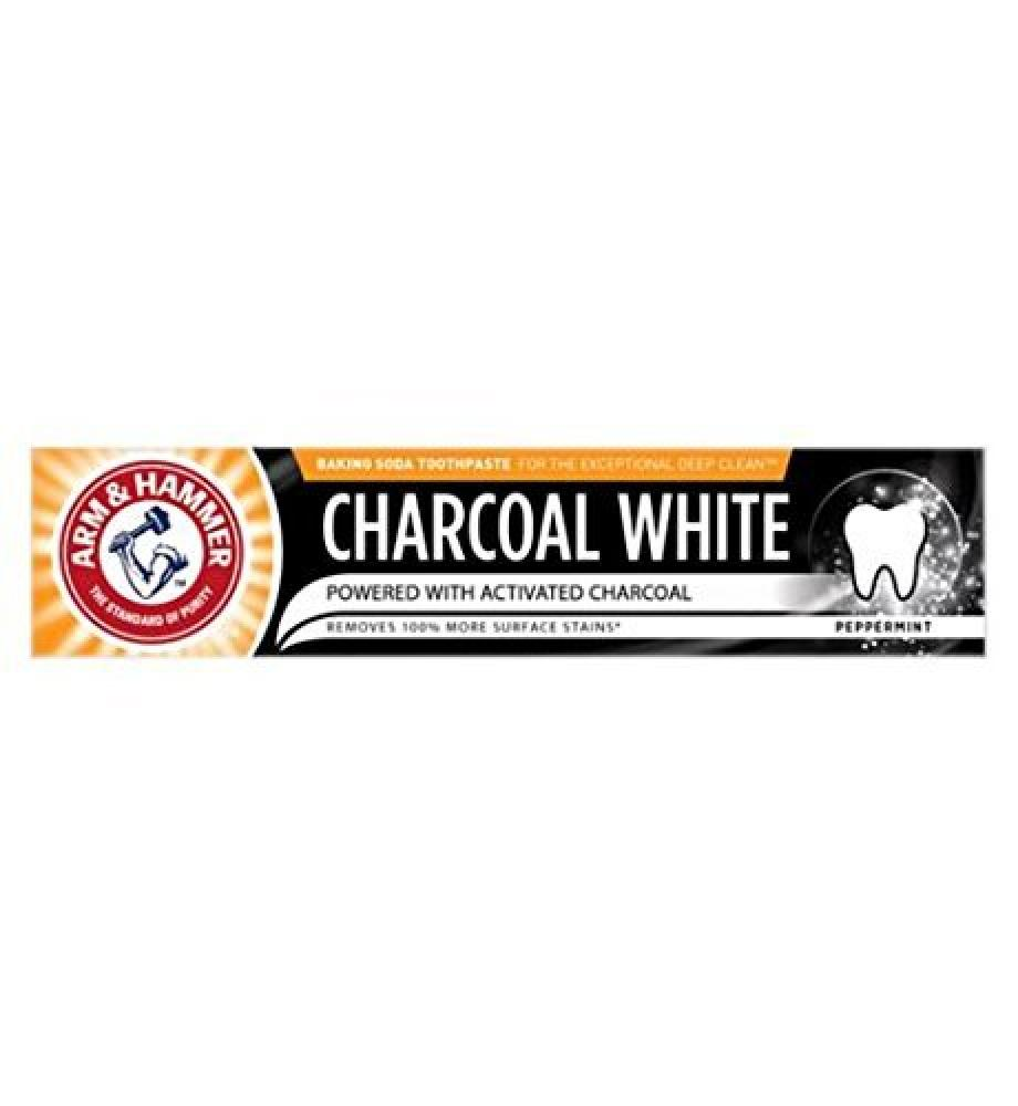 Arm and Hammer Charcoal White Peppermint Toothpaste 75 ml