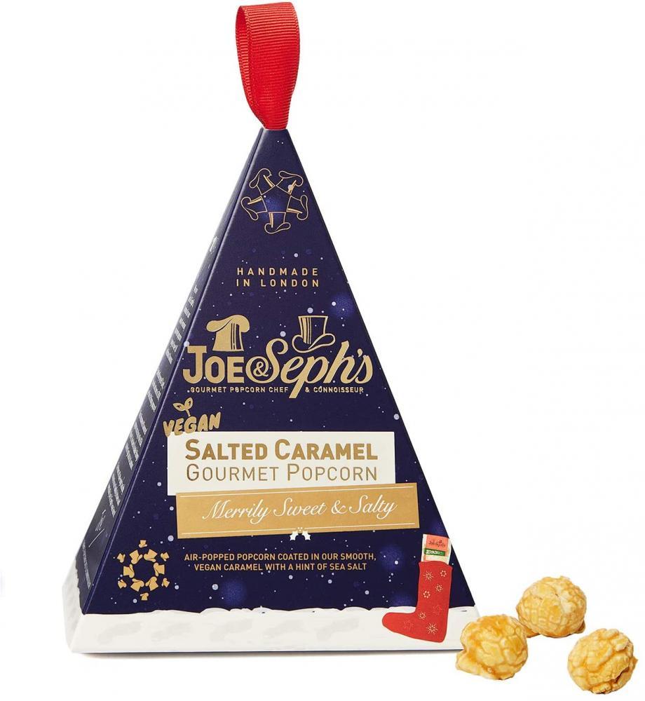 Joe and Sephs Vegan Salted Caramel Popcorn Mini Gift Box 32g