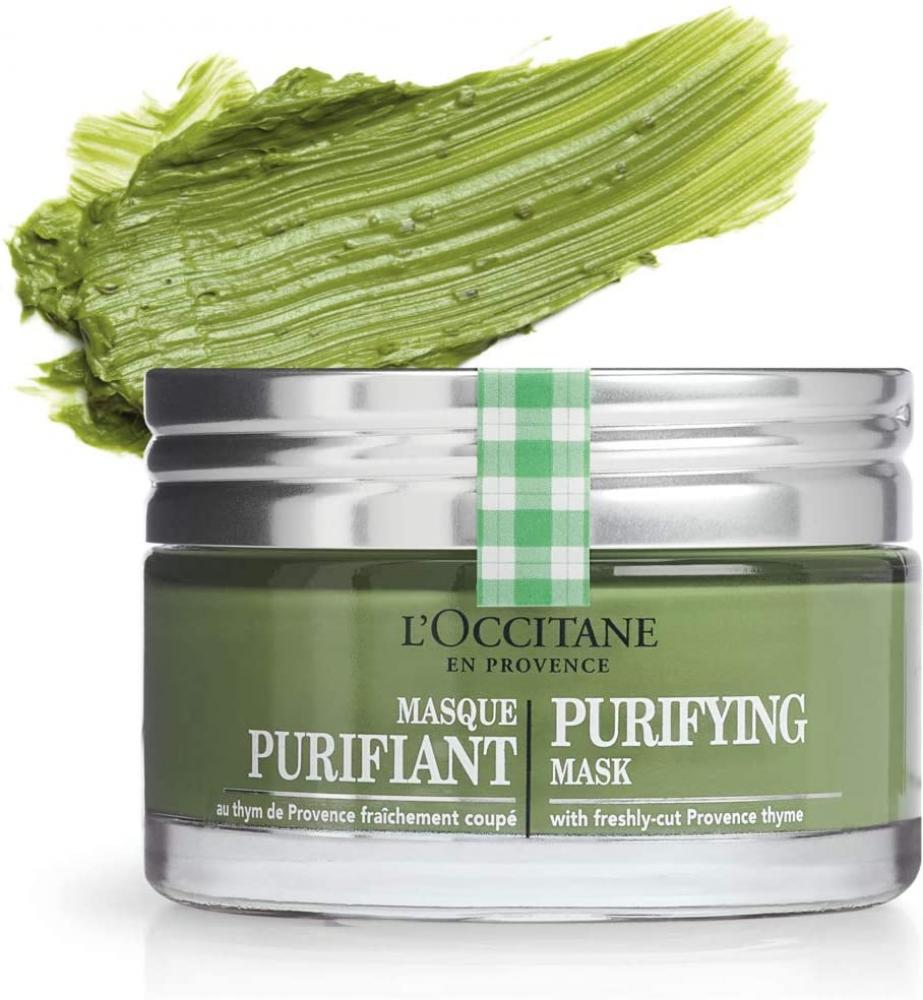 LOccitane Purifying Mask with Freshly-Cut Provencal Thyme 75ml