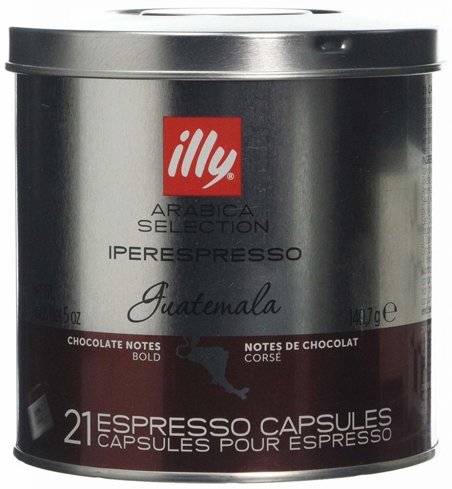 Illy Arabicq Selection Iperespresso Guatemala 21 Capsules