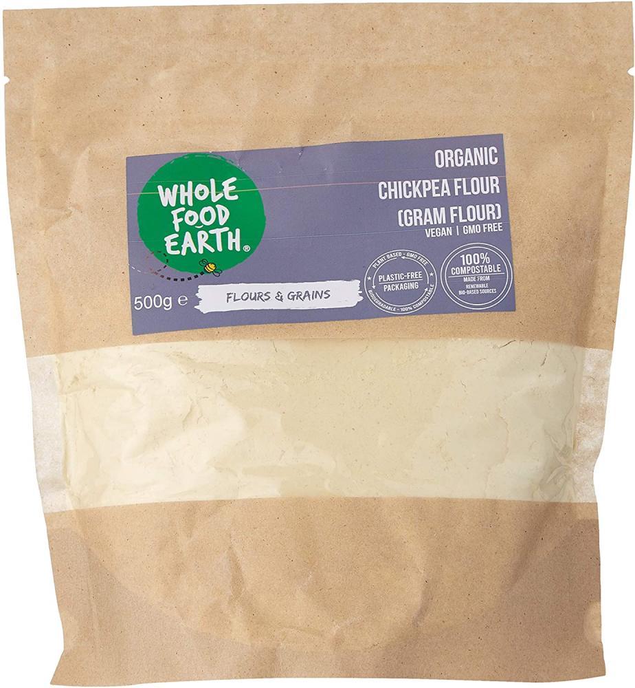 Wholefood Earth Organic Chickpea Flour 500 g