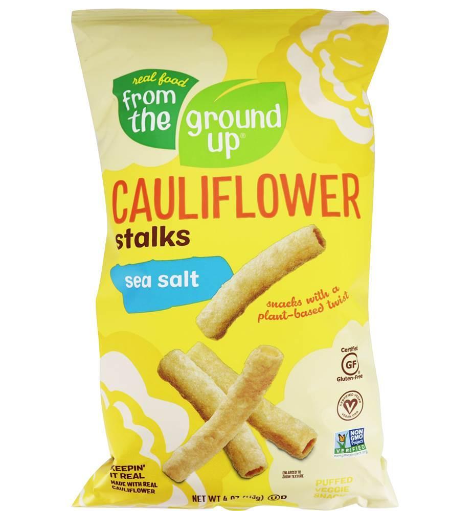 From The Ground Up Cauliflower Stalks Sea Salt 391g