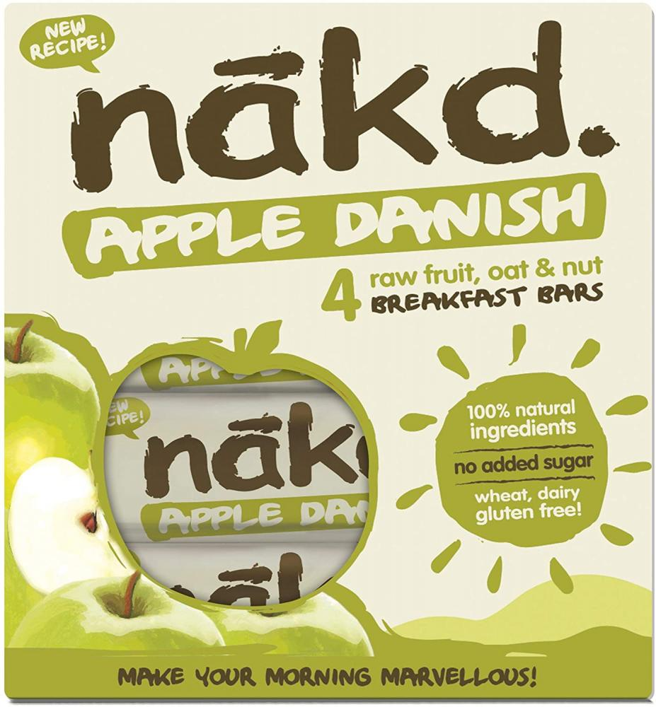 Nakd Apple Danish Bar 4x30g