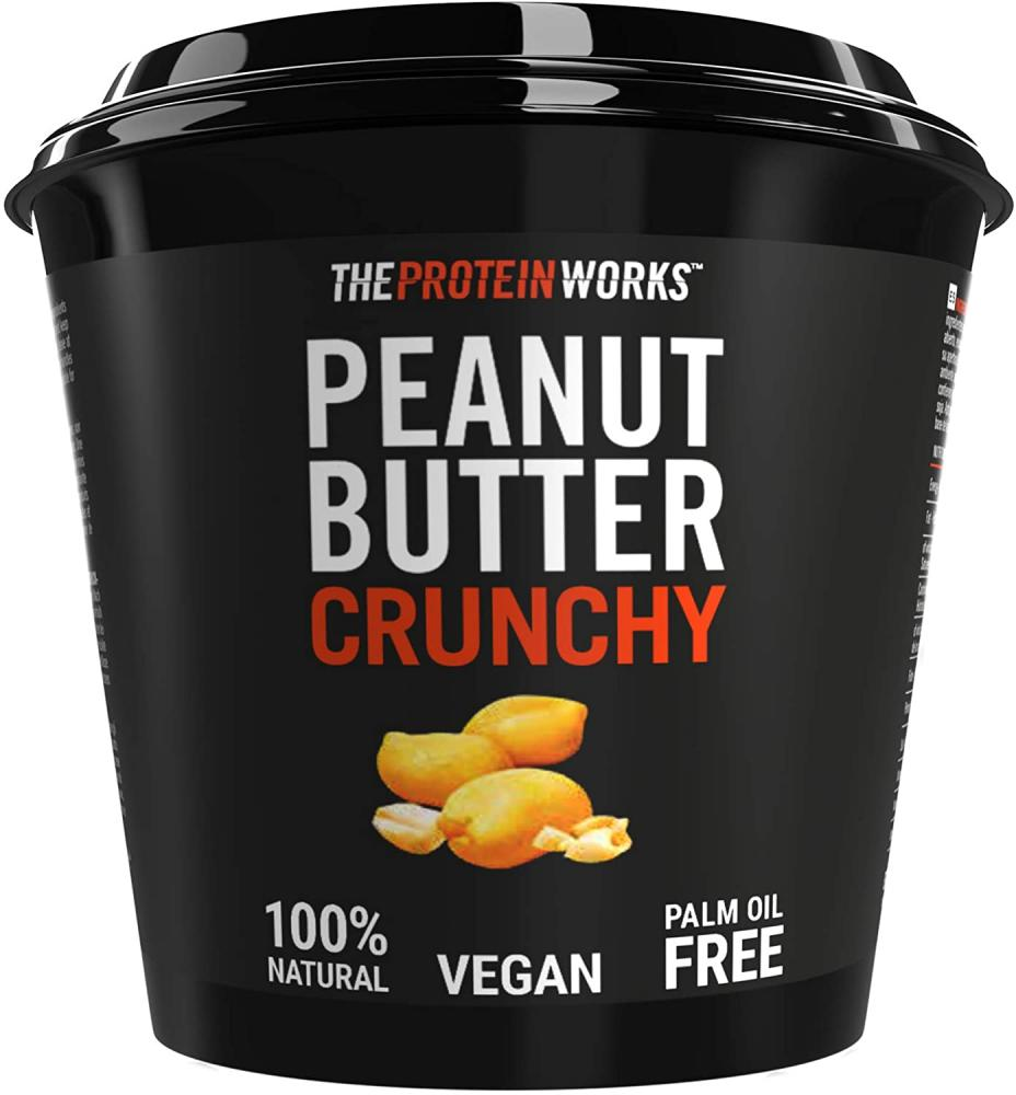 MEGA DEAL  The Protein Works Peanut Butter Crunchy 1 kg