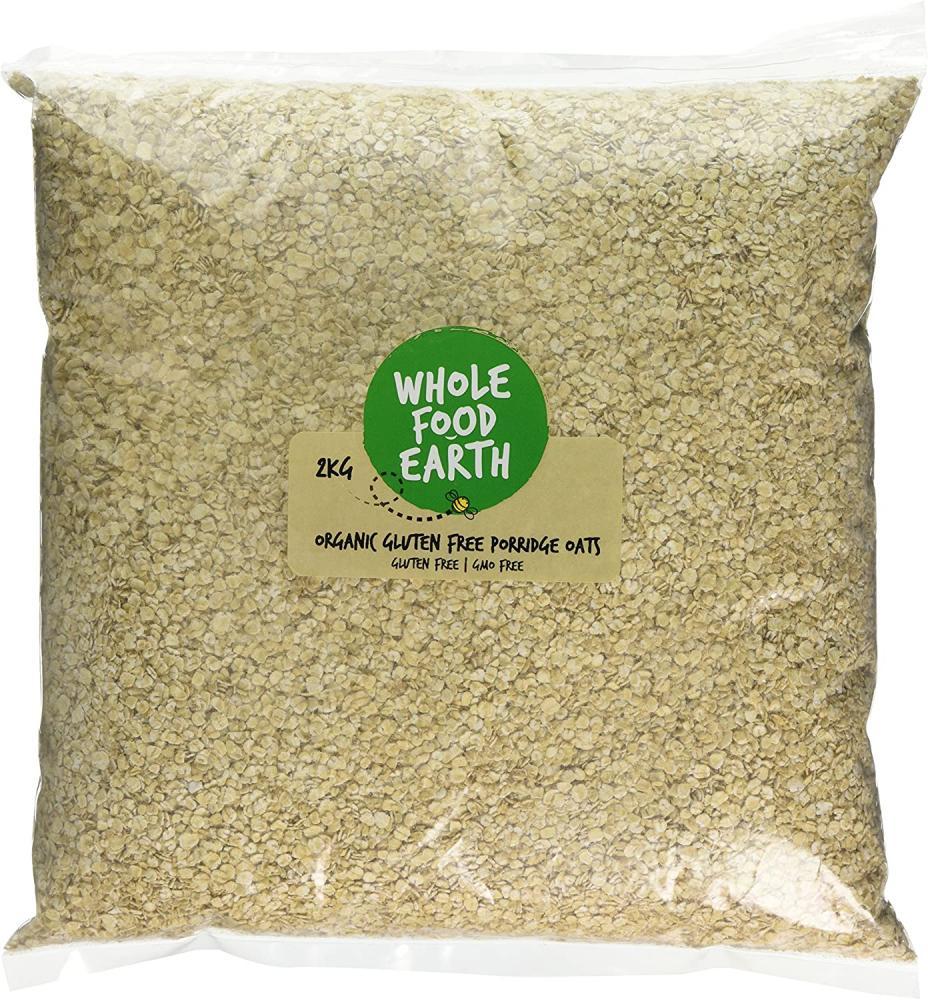 Wholefood Earth Organic Gluten Free Porridge Oats 2 kg