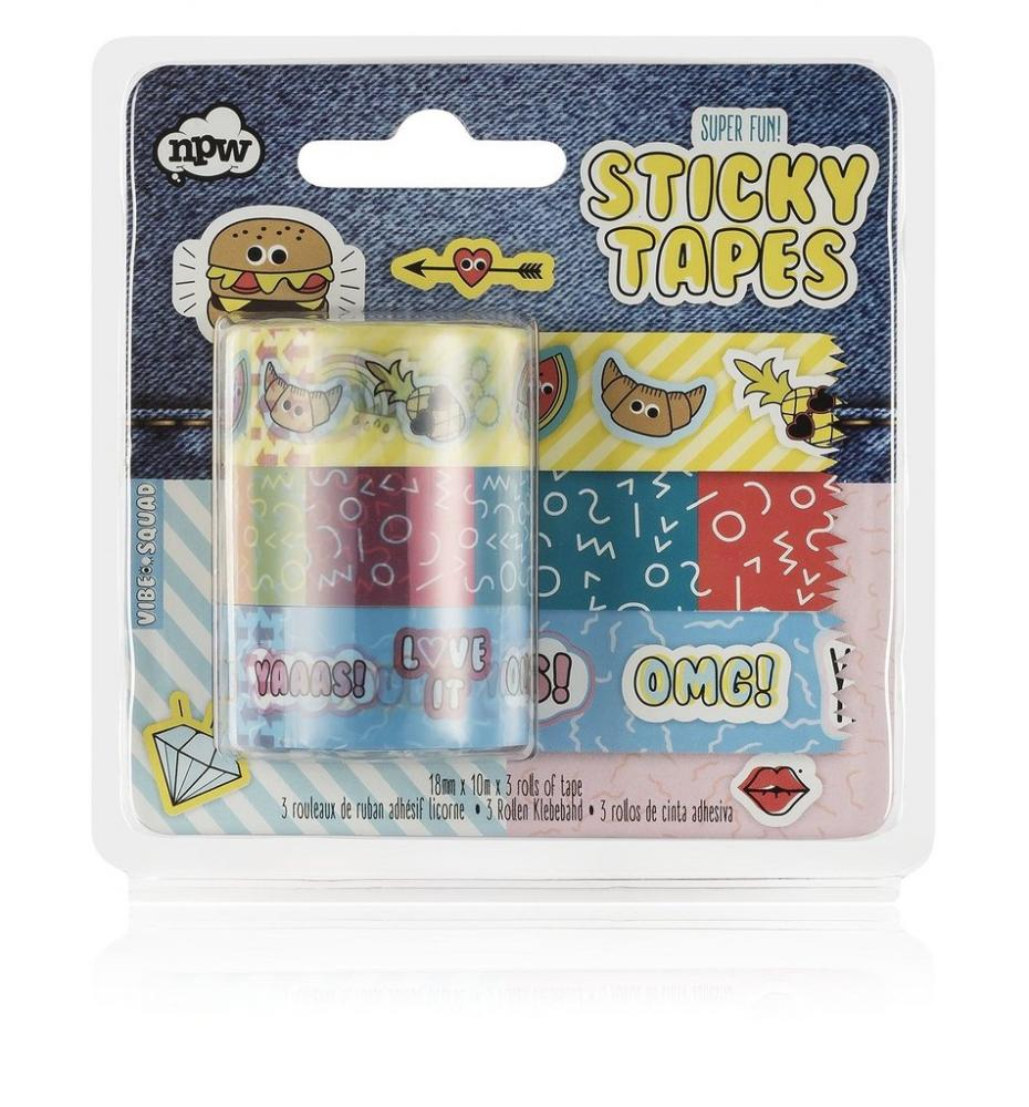 SALE  NPW Super Fun Sticky Tapes