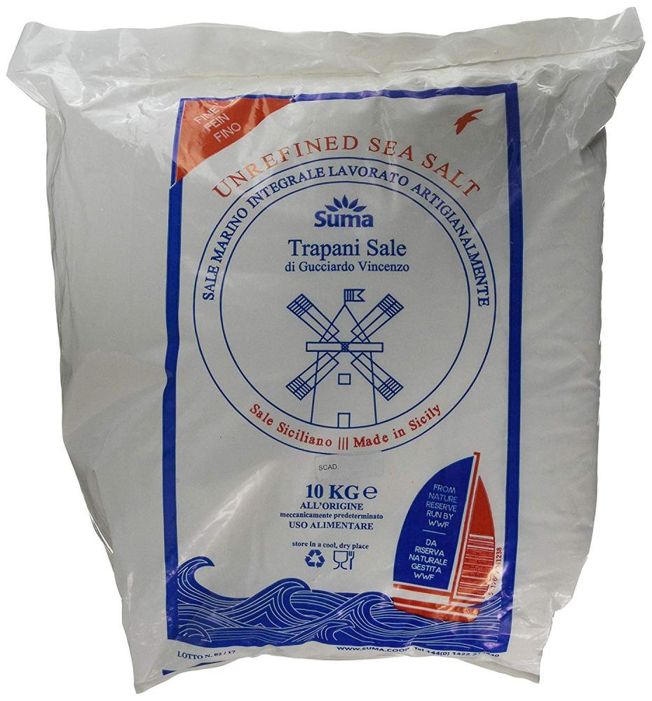 Suma Unrefined Sea Salt 10 kg