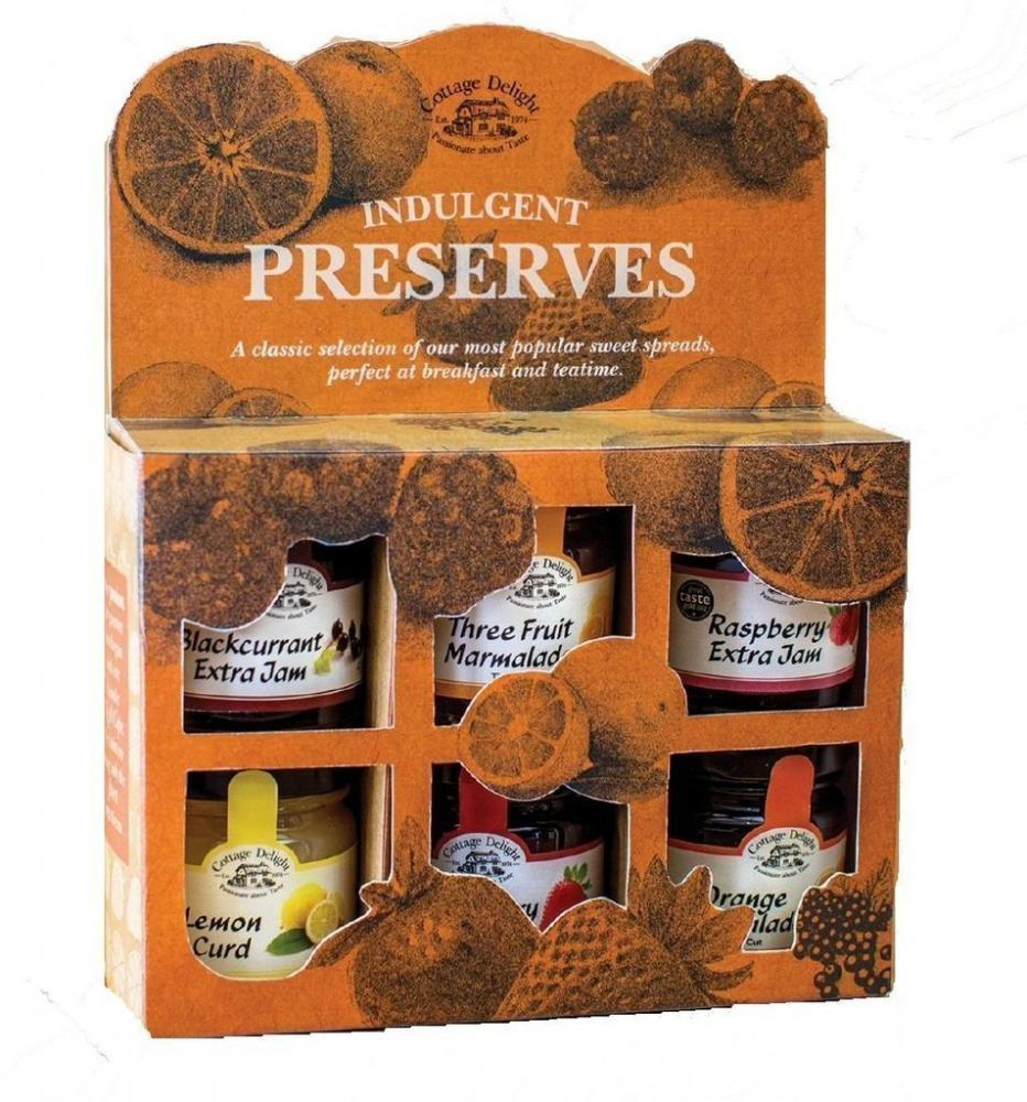 Cottage Delight Indulgent Preserves 6 pack