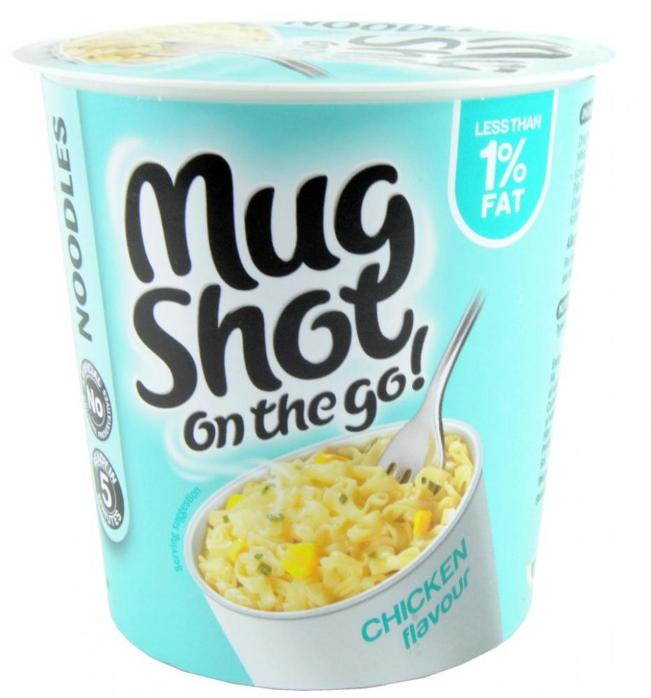 Mug Shot Snack Stop On The Go Chicken Flavour 46g