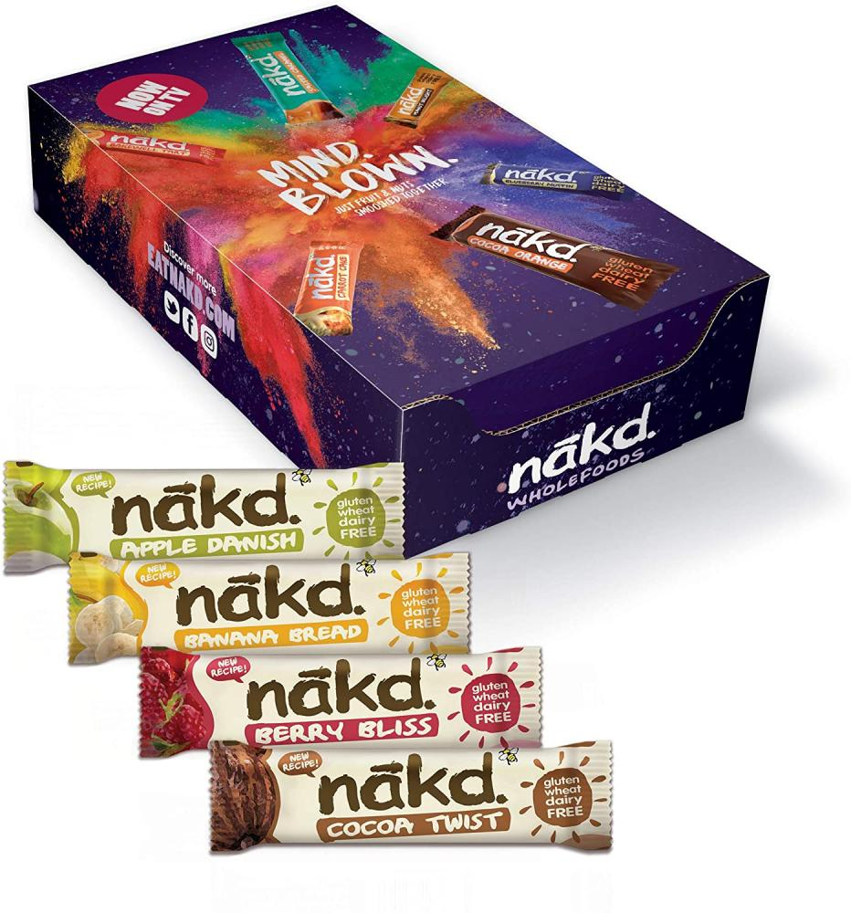 Nakd Oatie Mixed Bar LUCKY DIP 30g