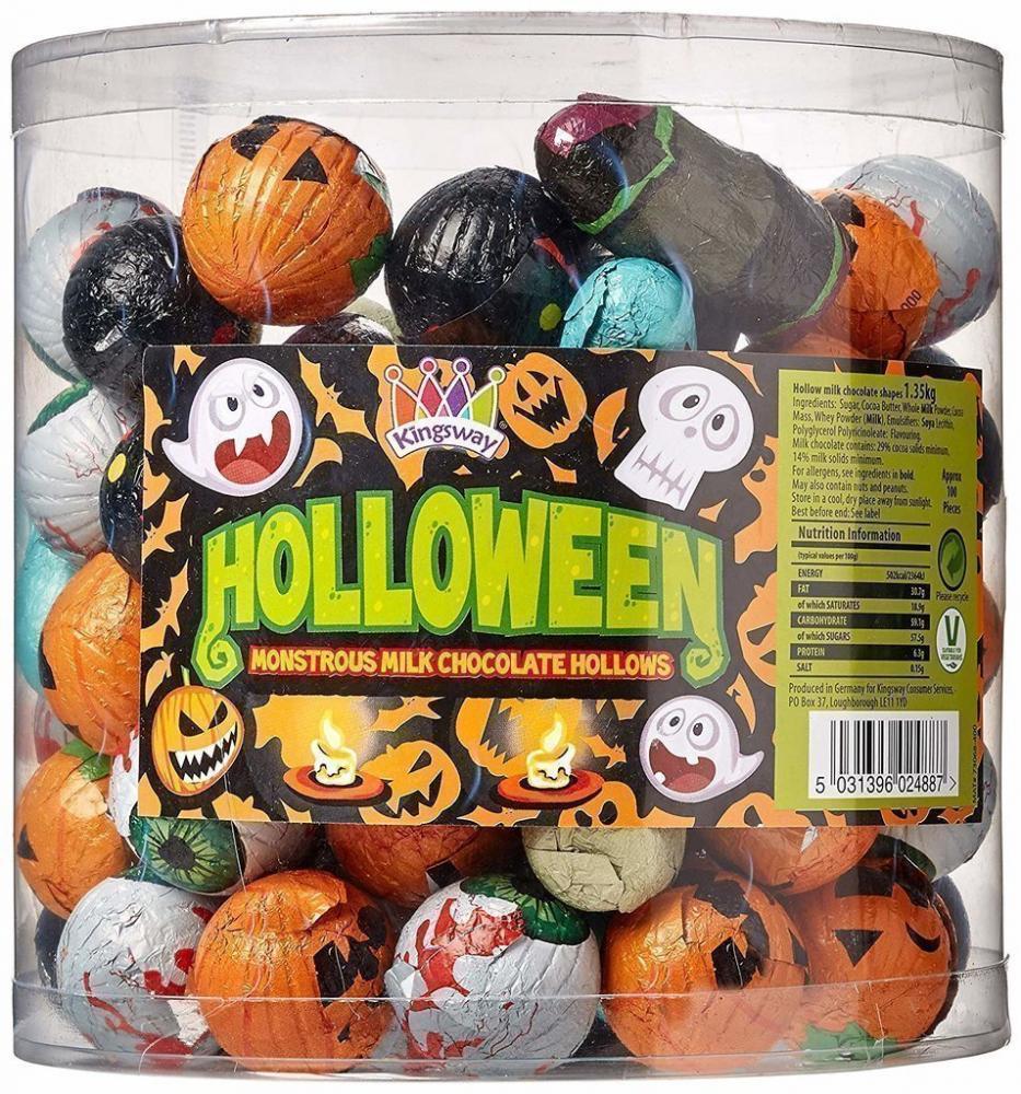 Dr. Wishbones Oddities Chocolate Halloween Shapes 13.5g