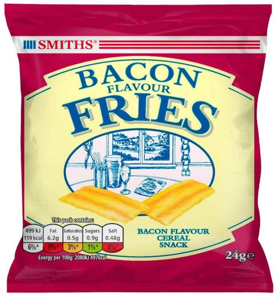 Smiths Bacon Flavour Fries 24g