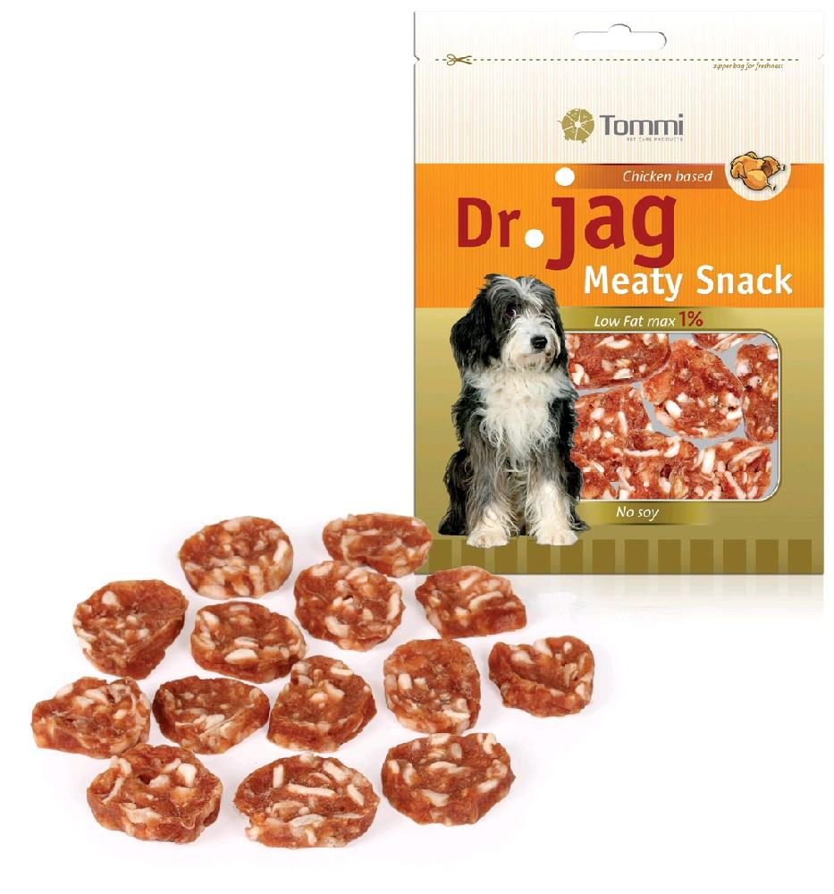 Tommi Pet Care Products Dr Jag Chicken Based Meaty Snack 70g