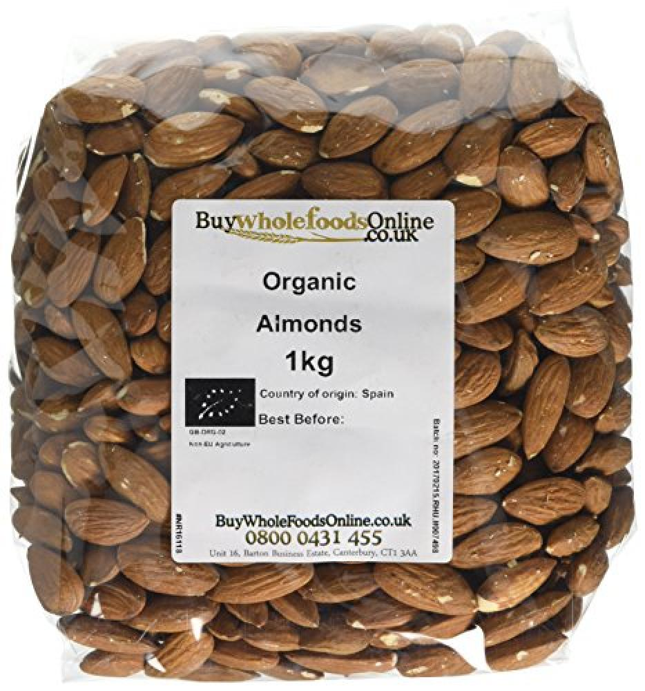 Buy Whole Foods Organic Almonds 1kg