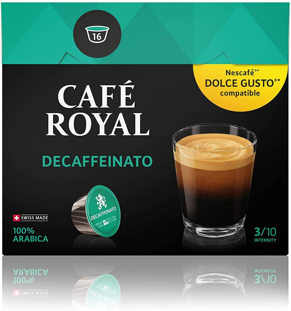 Cafe Royal Decaffeinato 16 Capsules