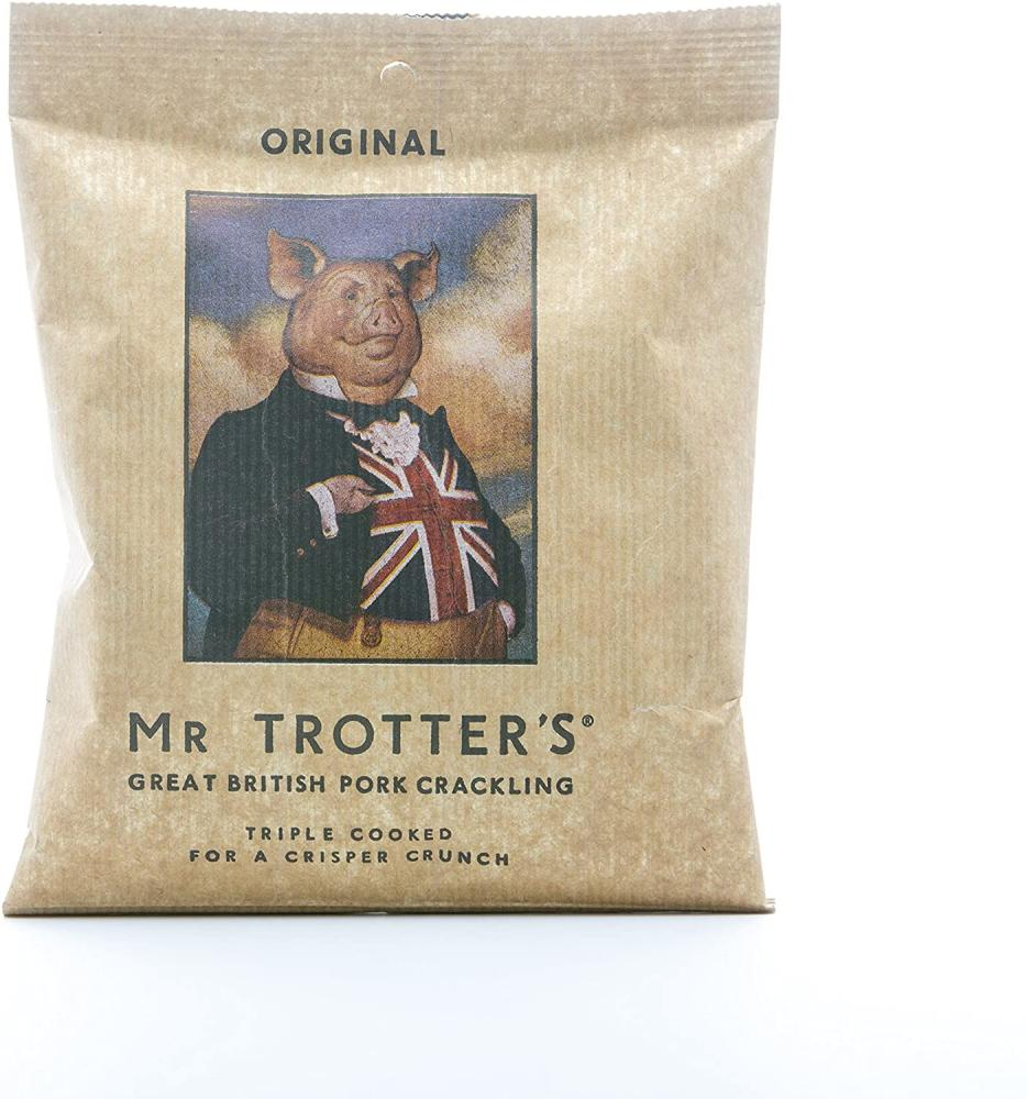 Mr Trotters Triple Cooked Pork Crackling 60g