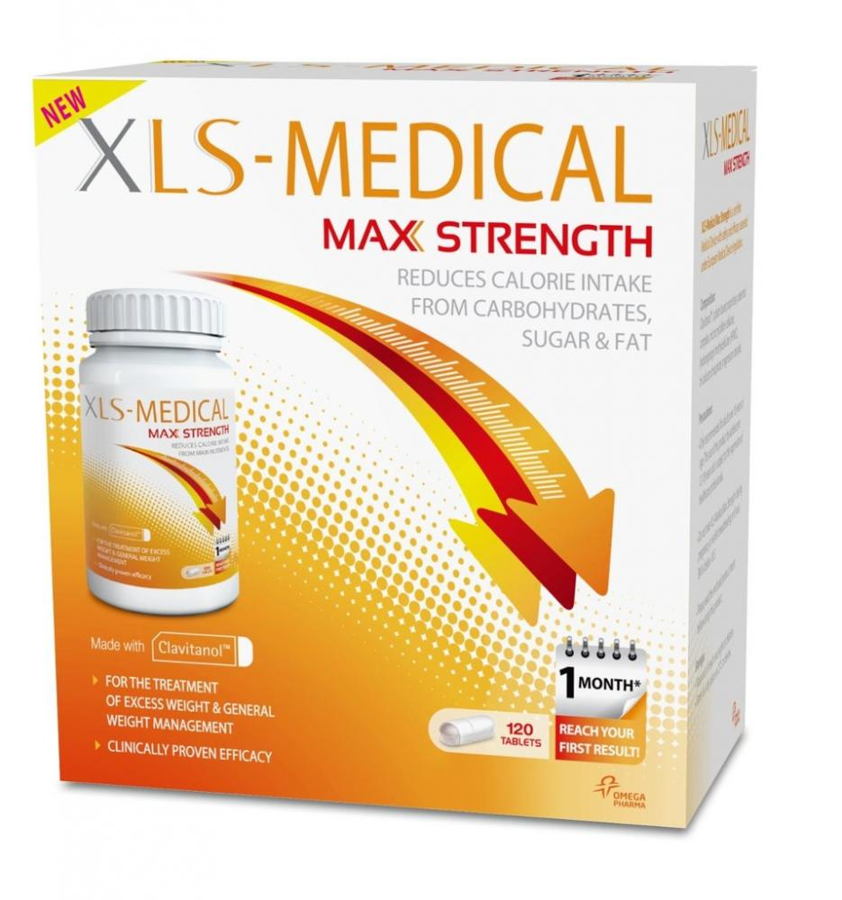 BLACK FRIDAY SPECIAL  XLS Medical Max Strenght Diet Pills For Weight Loss 120 Tablets