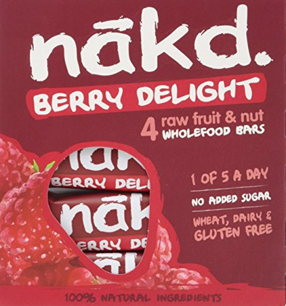 Nakd Berry Delight 4x35g