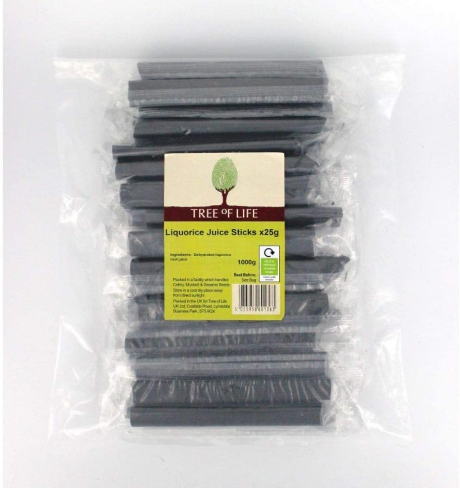 Tree Of Life Liquorice Juice Sticks 1kg