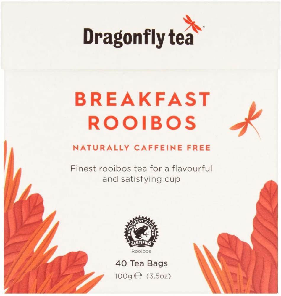 Dragonfly Tea Breakfast Rooibos Naturally Caffeine Free Tea 100g