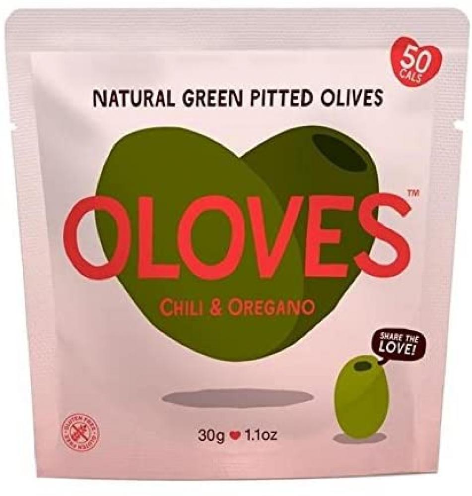 Oloves Chilli and Oregano 30g