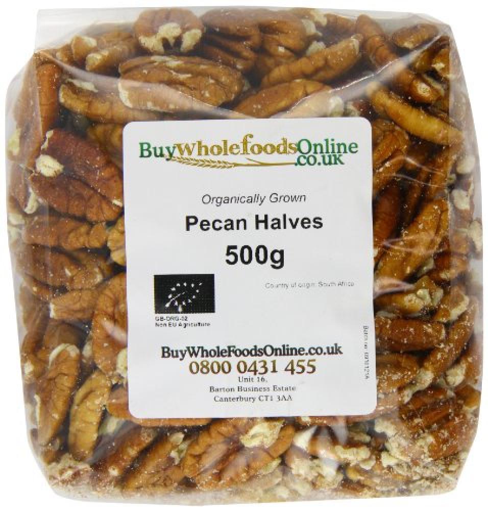 Buy Whole Foods Pecan Halves 500g