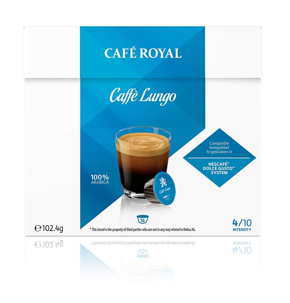 Cafe Royal Caffe Lungo 16 Pods