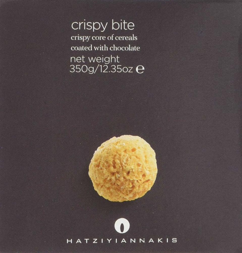 Hatziyiannakis Milky Crispy Bite Chocolates 350g