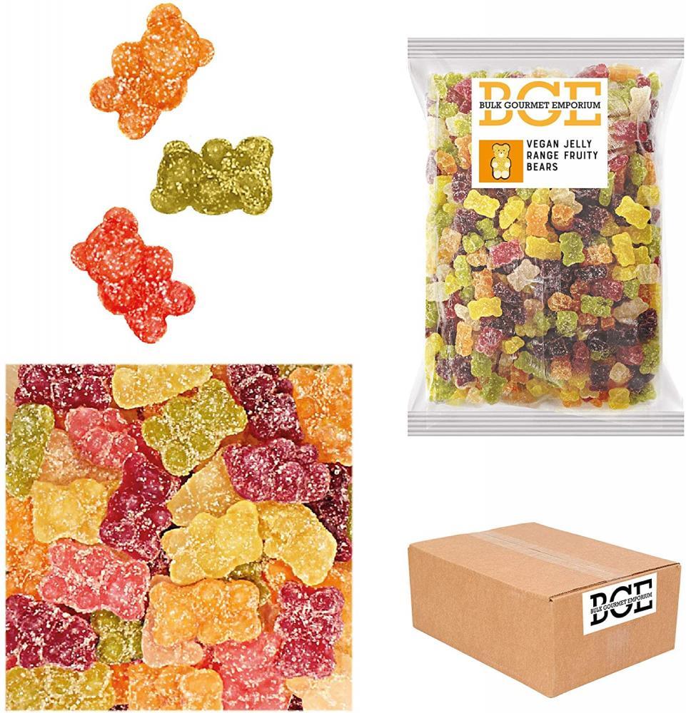 Bulk Gourmet Emporium Vegan Jelly Range Fruity Bears 2kg