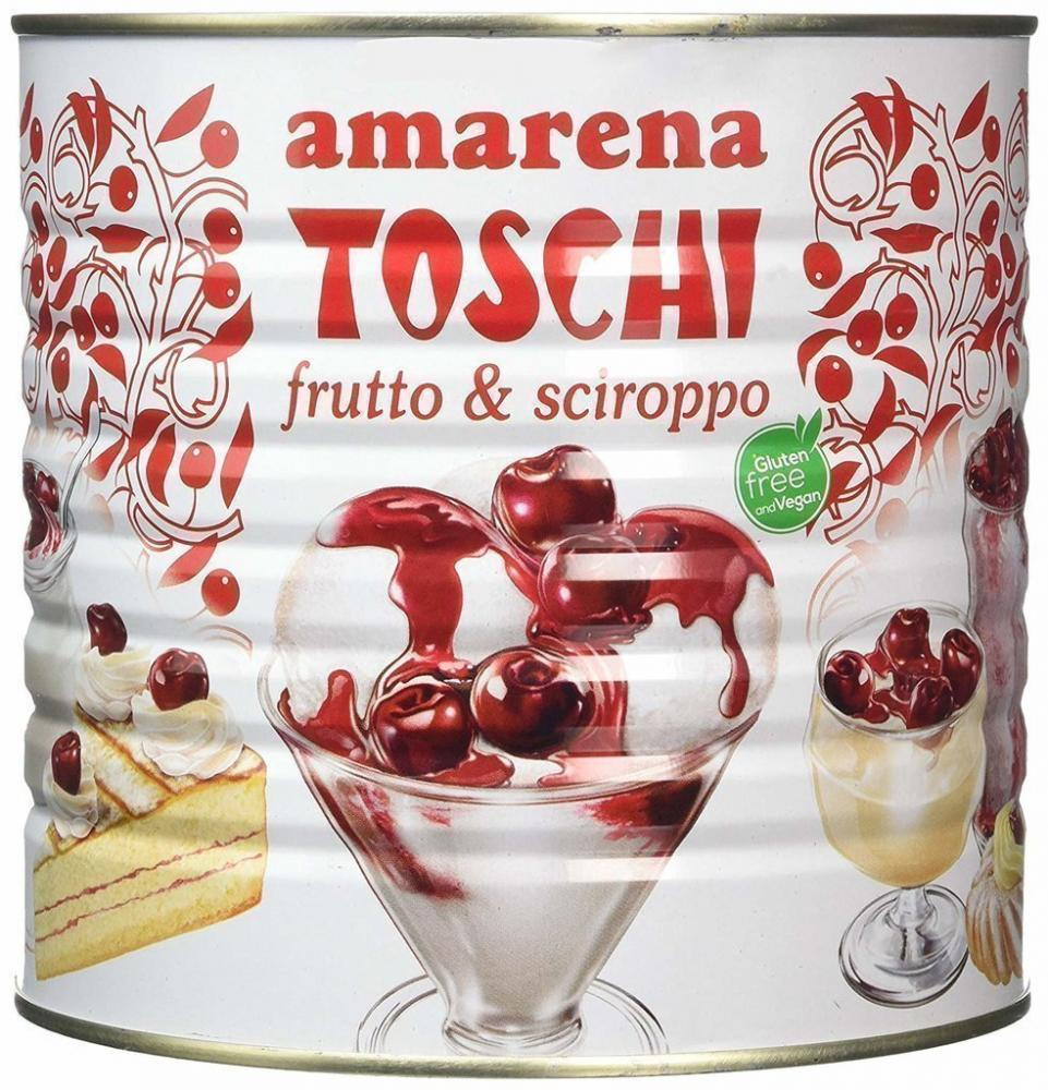 Toschi Black Cherry in Syrup 2.75kg