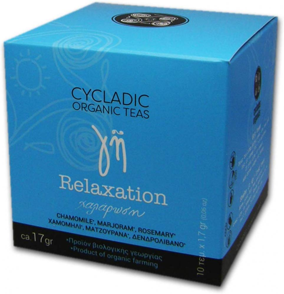 Cycladic Organic Teas Relaxation Tea 17 g