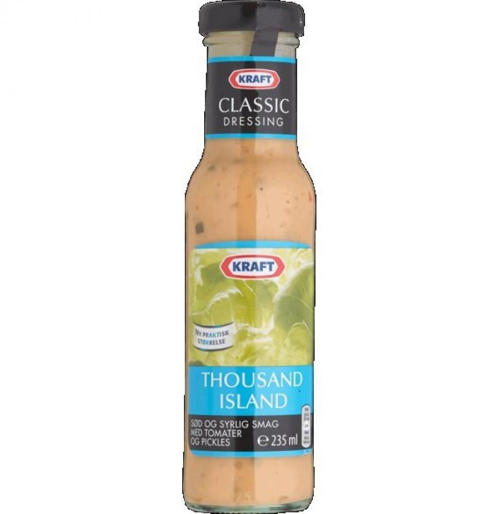 Kraft Thousand Island Dressing 235ml