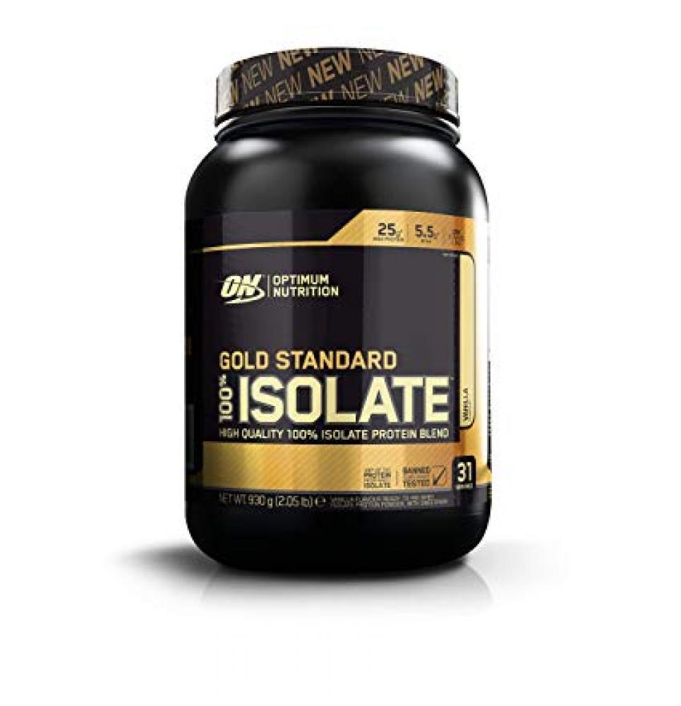 Optimum Nutrition Gold Standard Isolate Vanilla Protein Powder 930g