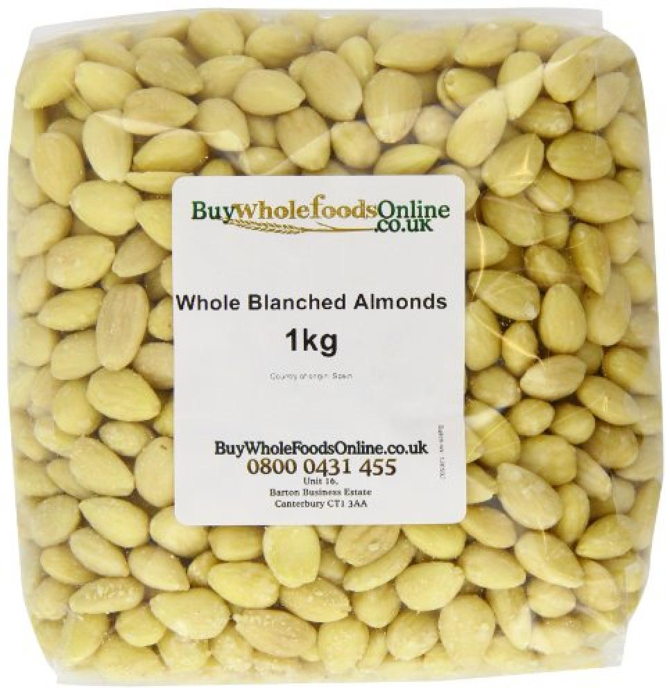 Buy Whole Foods Whole Blanched Almonds 1 Kg
