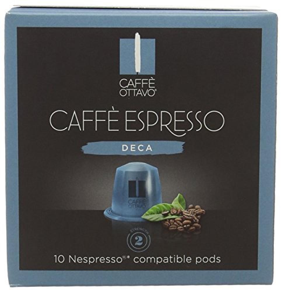Caffe Ottavo Intense Decaf Espresso Nespresso Compatible