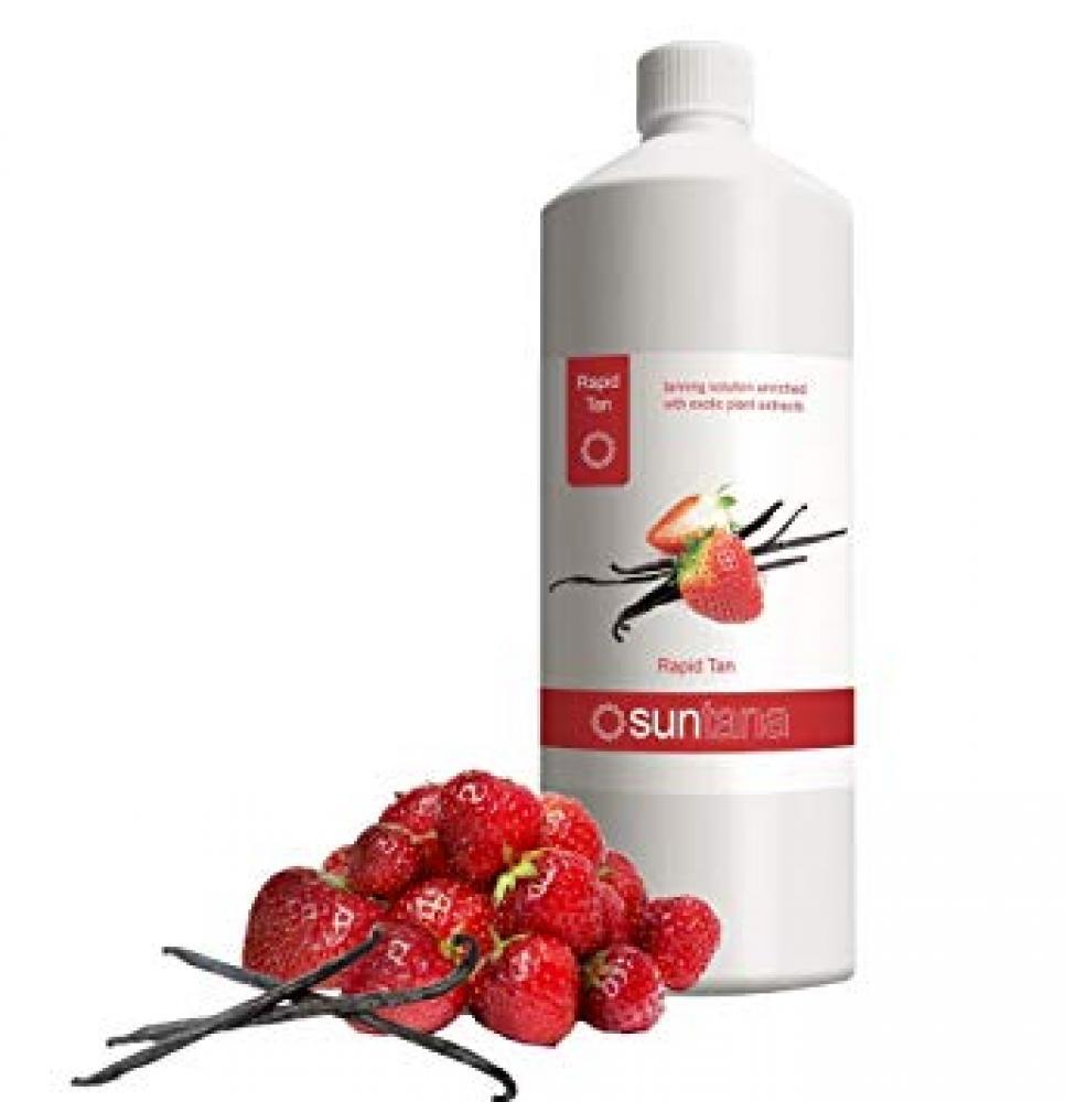 SALE  Suntana Spray tan Rapid Tan Solution Strawberry And Vanilla 250ml