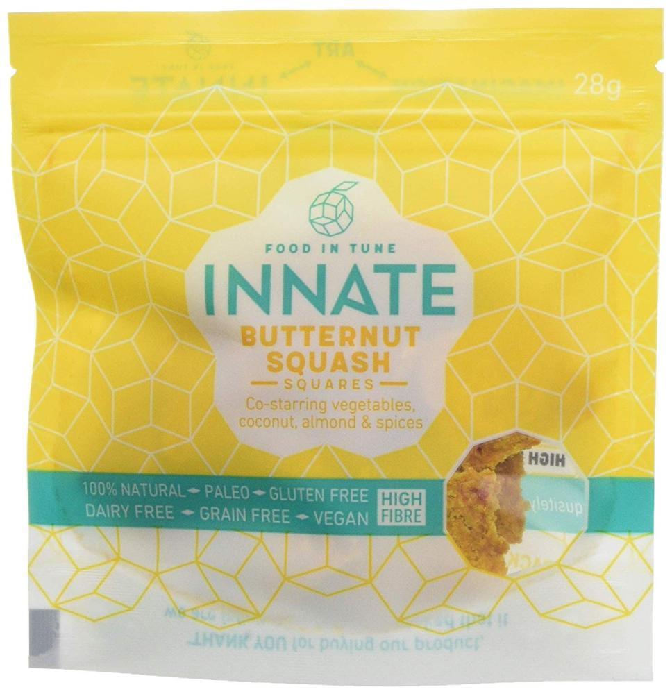 Innate Butternut Squash Squares Healthy Snacks 28g