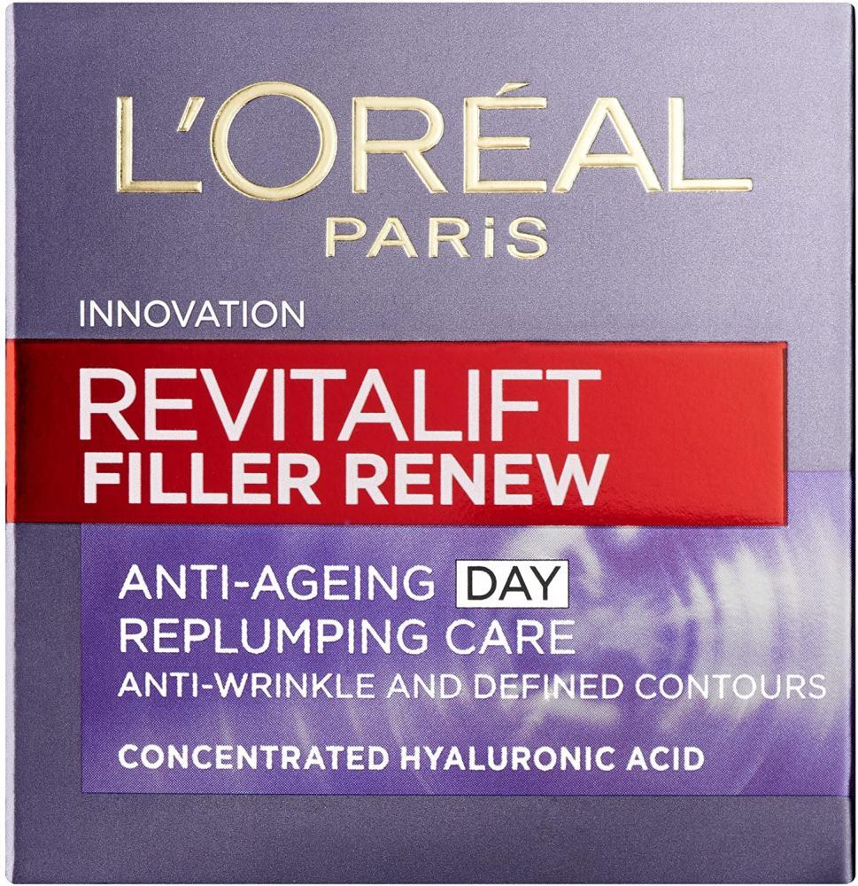 Loreal Paris Revitalift Filler Hyaluronic Acid Anti Ageing Anti-Wrinkle Replumping Day Cream 50ml Damaged Box