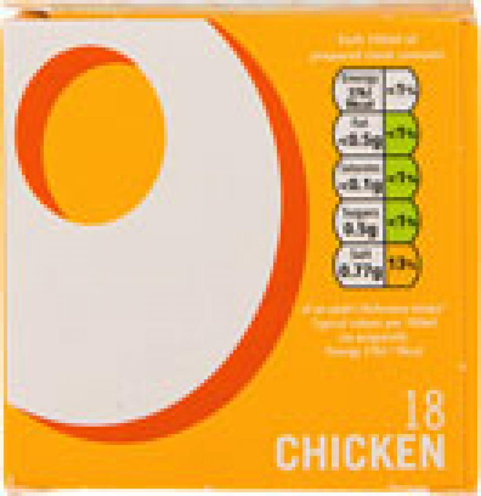 Oxo 18 Chicken Stock Cubes