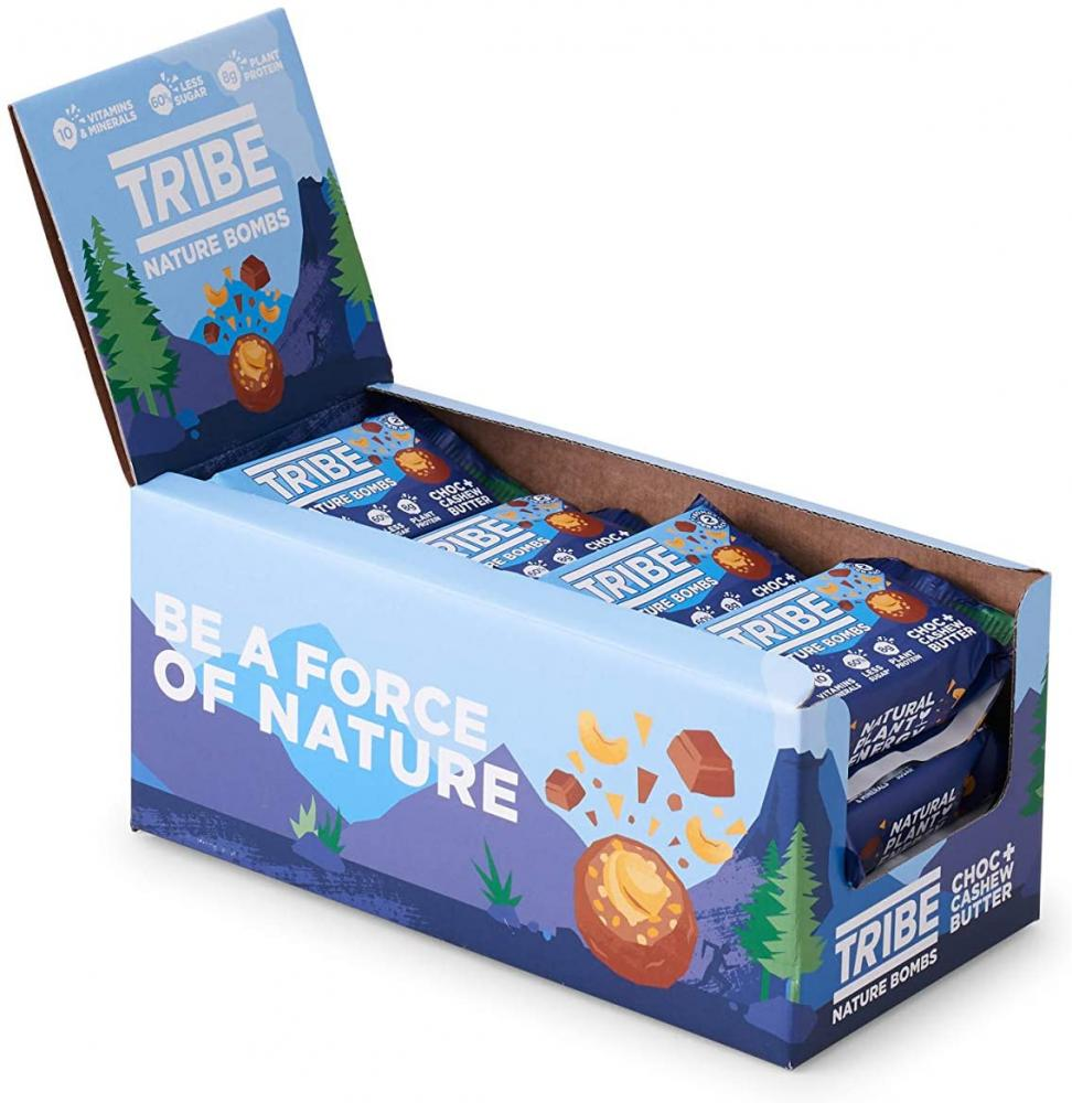 Tribe Nature Bombs Choc plus Cashew Butter 40g