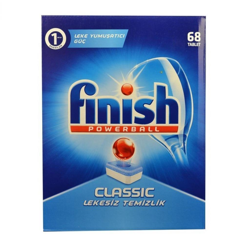 Finish Powerball Classic 68 pack
