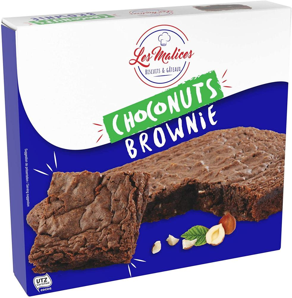 SALE  Les Malices Choconuts Brownie Family Size 285 g